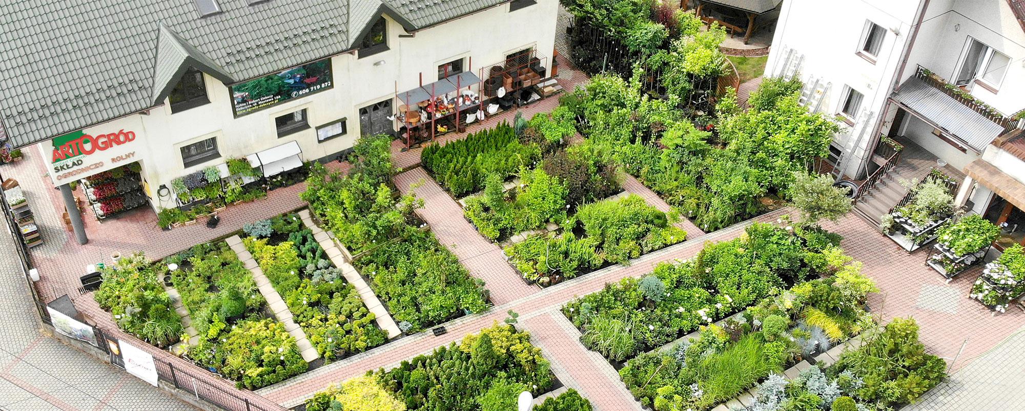 Sklepy ogrodnicze
